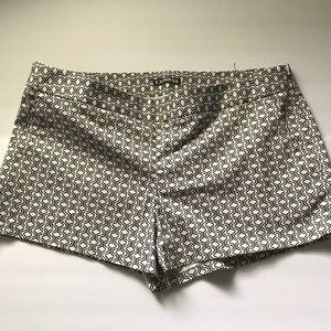 Express Geometric Shorts